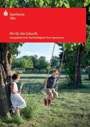 Kompaktbericht Nachhaltigkeit der Sparkasse Ulm