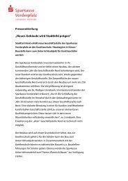 Presseinfo GS Nord - Sparkasse Vorderpfalz