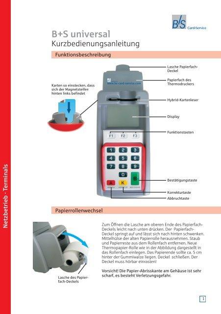 KA-BS universal TA7-0.pdf - B+S Card Service GmbH