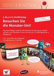 Besuchen Sie die Monster-Uni!
