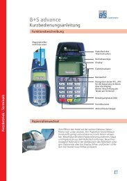 CCV ST-3740 - B+S Card Service GmbH