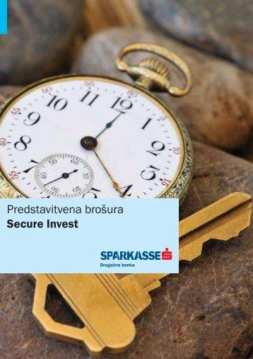 Secure invest1 - Banka Sparkasse