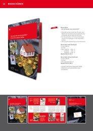 12 Broschüren - Sparkassen Immobilien