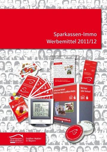 Sparkassen-Immo Werbemittel 2011/12 - Sparkassen Immobilien