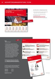 12 GeschÄFtsrAuMAusstAttunG / Flyer - Sparkassen Immobilien
