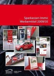 Sparkassen-Immo Werbemittel 2009/10 - Sparkassen Immobilien