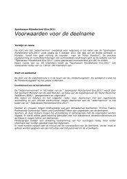 Voorwaarden voor de deelname - Sparkassen Münsterland Giro