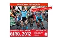 Wir sind weiter auf Erfolgskurs - Sparkassen Münsterland Giro