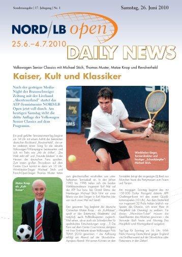 Kaiser, Kult und Klassiker - Sparkassen Open