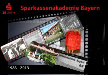Broschüre - Sparkassenakademie Bayern