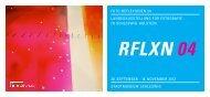 RFLXN 04 - Sparkassenstiftung Schleswig-Holstein