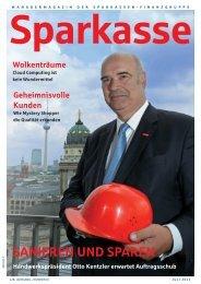 SANIEREN UND SPAREN - Sparkassenzeitung