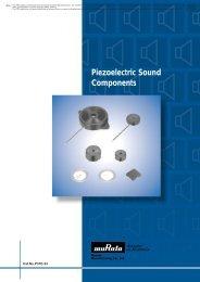 Piezoelectric Sound Components - SparkFun Electronics