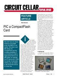 PIC a CompactFlash Card - Walrus Internet
