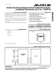 MAX6675 Datasheet - Adafruit Industries