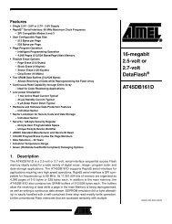 AT45DB161D - SparkFun Electronics