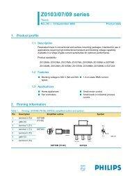 Z0103/07/09 series Triacs - SparkFun Electronics