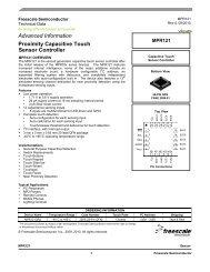 MPR121 Datasheet