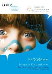 Augen PROGRAMM - Sparkling Science