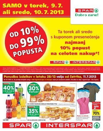 30% - Spar
