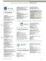 Mitglied - Berufsverband Deutscher Nervenärzte