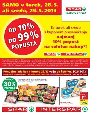 20% - Spar