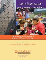 How will you spend your summer vacation? - Spartanburg County ...