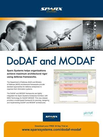 DoDAF and MODAF - Enterprise Architect