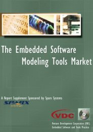 The Embedded Software Modeling Tools Market - Enterprise Architect