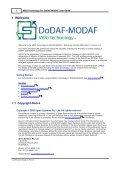 MDG Technology for DoDAF-MODAF User Guide - Enterprise Architect - Page 6