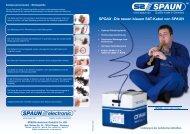 SPOAX - Die neuen blauen SAT-Kabel von SPAUN