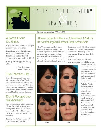 Spa News Winter 2005.indd - Spa Vitoria