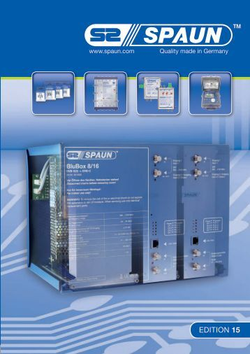 Edition 15 - Spaun