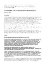 Württembergische Evangelische Landessynode zur Evangelischen ...