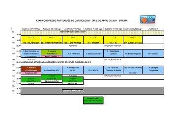 xxxii congresso português de cardiologia - dia 8 de abril de 2011
