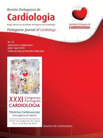 Resumos das Comunicações - Sociedade Portuguesa de Cardiologia