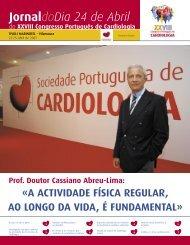Edição 24 de Abril 2007 - Sociedade Portuguesa de Cardiologia