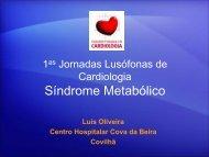 1as Jornadas Lusófonas de Cardiologia Síndrome Metabólica
