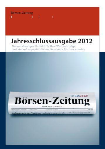pdf-Dokument - Börsen-Zeitung