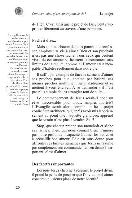 COMMENT BIEN GÉRER SON CAPITAL DE VIE? - SHEKINA