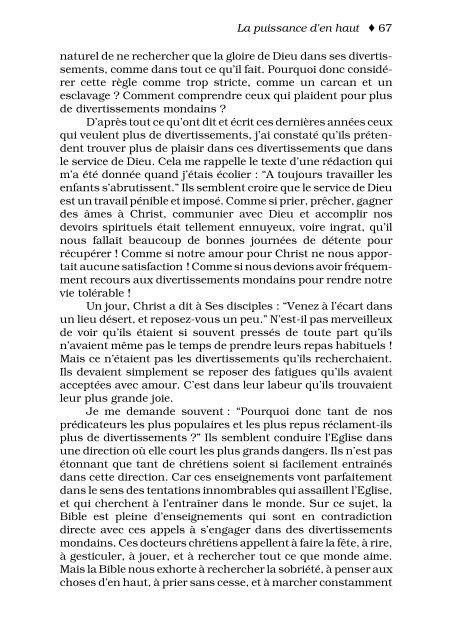 La puissance d'En Haut - Mission Chrétienne Globale
