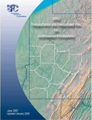 2035 Plan Cover.jpg - Southwestern Pennsylvania Commission