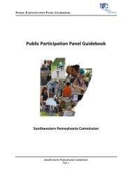 Public Participation Panel Guidebook - Southwestern Pennsylvania ...
