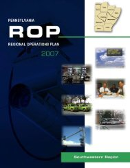 Regional Operations Plan (ROP) - Southwestern Pennsylvania ...