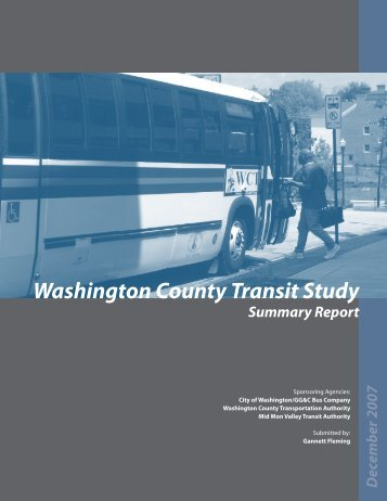 Washington County Transit Study - Southwestern Pennsylvania ...