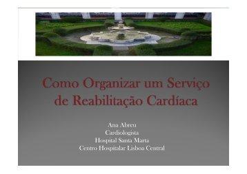 Como organizar um programa de reabilitação cardíaca