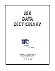 GIS Data Dictionary