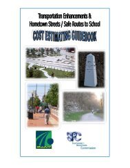 TE/HS/SRTS Cost Estimating Guidebook (PDF) - Southwestern ...