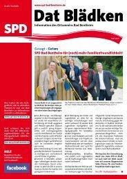 SPD Bad Bentheim für - SPD-Ortsverein Bad Bentheim