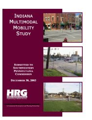 indiana multimodal mobility study - Southwestern Pennsylvania ...